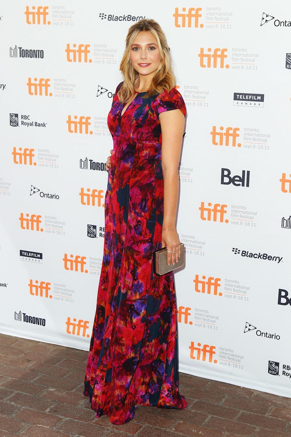 """Olsen at the """"Martha Marcy May Marlene"""" premiere during the Toronto International Film Festival on Sept. 11, 2011."""