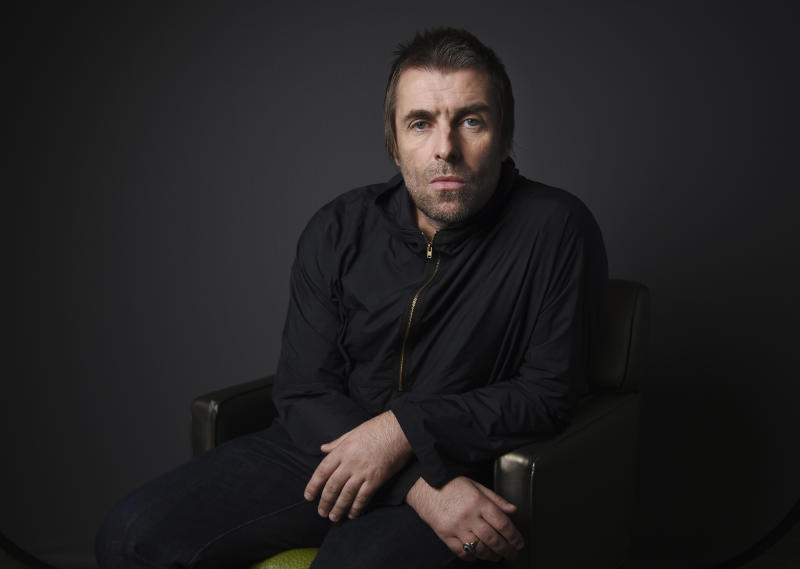 Liam Gallagher Portrait Session