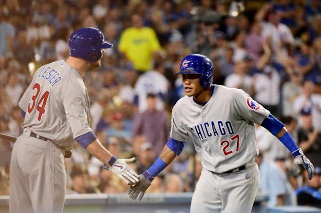 There's an intimate reason Addison Russell has put it all together at the plate recently. (Getty Images/Harry How)