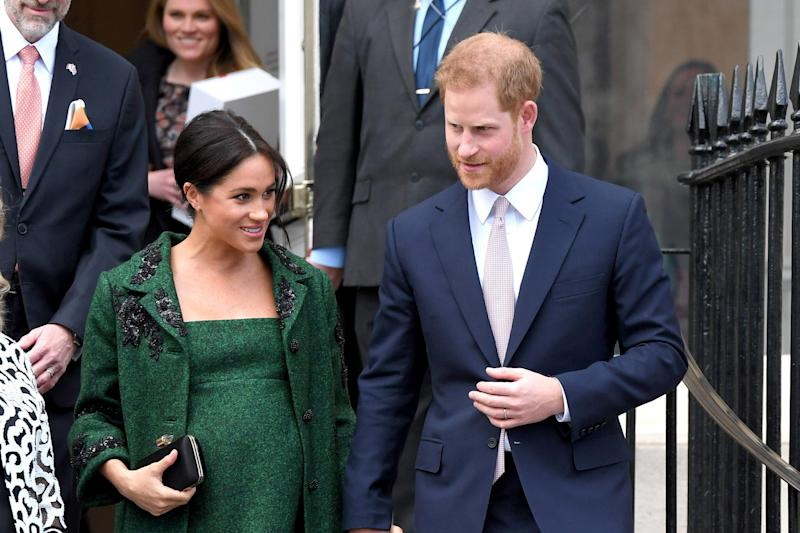 Royal delivery: The Duke and Duchess of Sussex (Karwai Tang/WireImage)