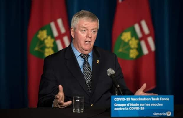 Retired general Rick Hillier, chair of the COVID-19 immunization task force, announced new details about Ontario's priority list this week.