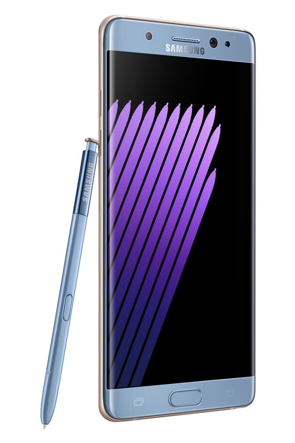 The Samsung Galaxy Note 7