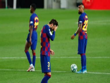 LaLiga: Barcelona player tests positive for COVID-19, not in Champions League squad, says club