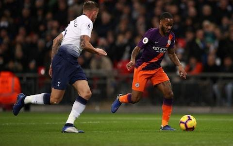 Raheem Sterling -Tottenham vs Manchester City, player ratings: Who looked like champions and who played like also-rans? - Credit: PA