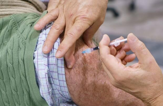 New Brunswickers ages 85 and older will be able to be vaccinated against COVID-19 starting on Wednesday. (Paul Chiasson/The Canadian Press - image credit)