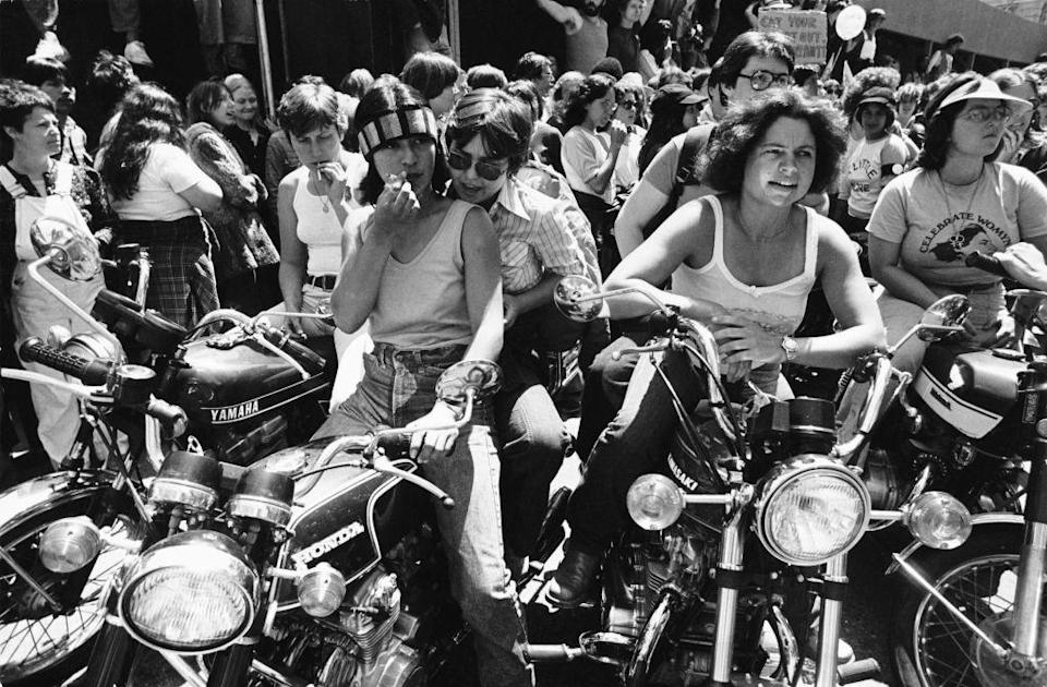 """<p>The June 1977 <a href=""""https://www.sfpride.org/"""" rel=""""nofollow noopener"""" target=""""_blank"""" data-ylk=""""slk:Gay Freedom Day"""" class=""""link rapid-noclick-resp"""">Gay Freedom Day</a> parade in <a href=""""https://www.sftravel.com/"""" rel=""""nofollow noopener"""" target=""""_blank"""" data-ylk=""""slk:San Francisco"""" class=""""link rapid-noclick-resp"""">San Francisco</a> drew more than 250,000 attendees starting an upwards spiral of large parade numbers for the cause. This and San Francisco's large LGBTQ+ community made it a destination worth visiting. </p>"""