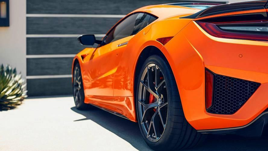 acura squeezes more performance out of 2019 nsx  adds orange paint
