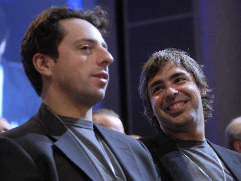 google Larry Page and Sergey Brin