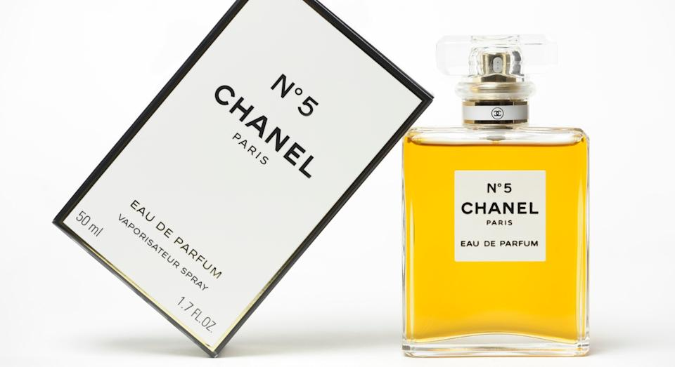 A bottle of Chanel No. 5 perfume is sold every 30 seconds (Getty)