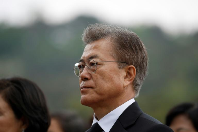 Moon warns 'high possibility' of conflict with North