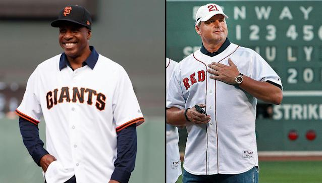 Barry Bonds and Roger Clemens aren't much closer to get into Cooperstown. (Getty Images)