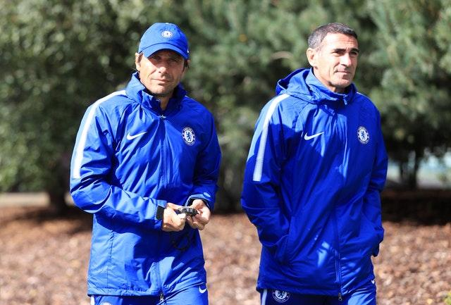 Alessio worked with Antonio Conte at Juventus and Chelsea