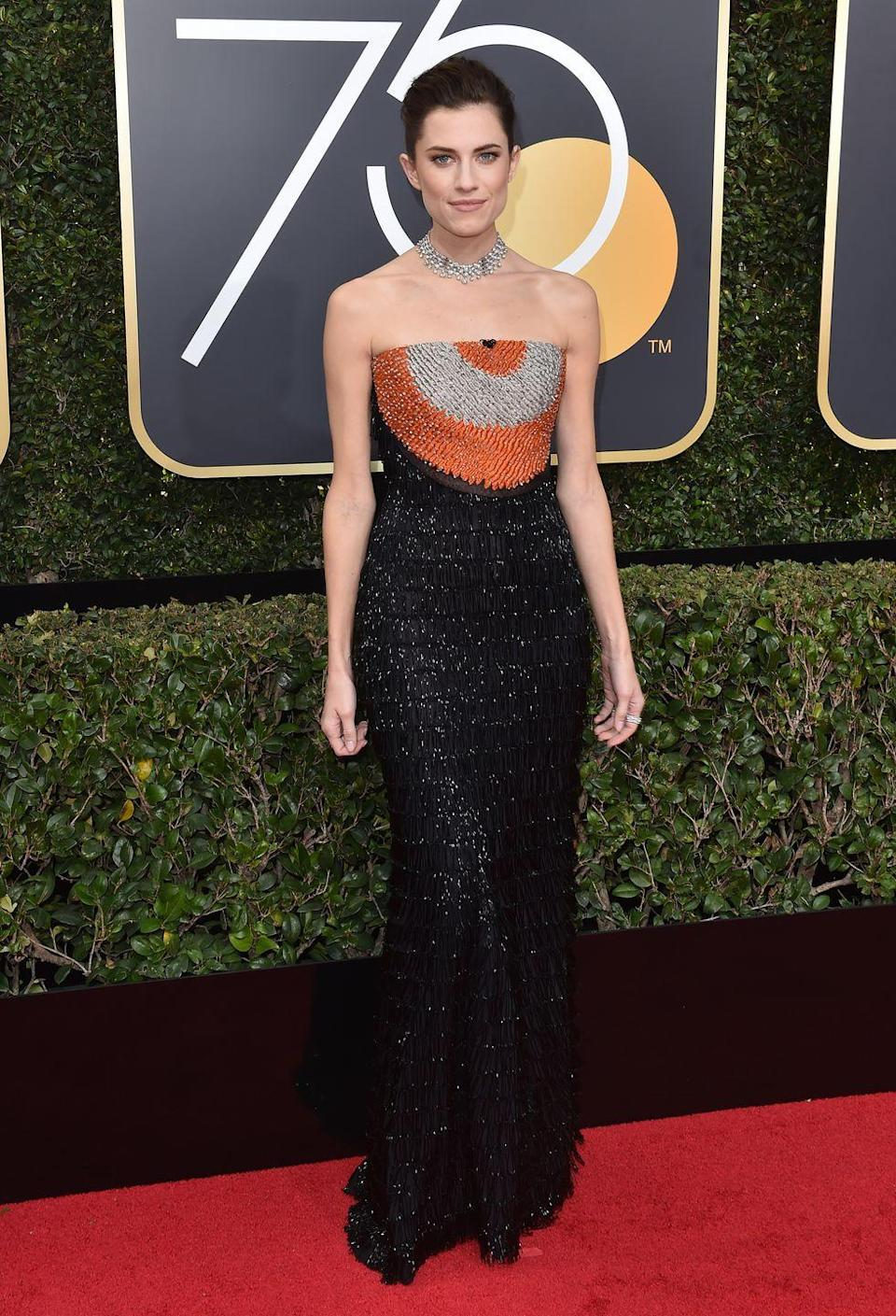 <p>In 2018, the ceremony called for everyone to wear black in solidarity with the #TimesUp movement, some thought it wasn't acceptable for actresses to also incorporate colors into their red carpet look.</p>