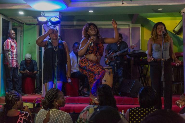 Bikutsi's raunchy lyrics and provocative dancing quickly draw appreciative laughter