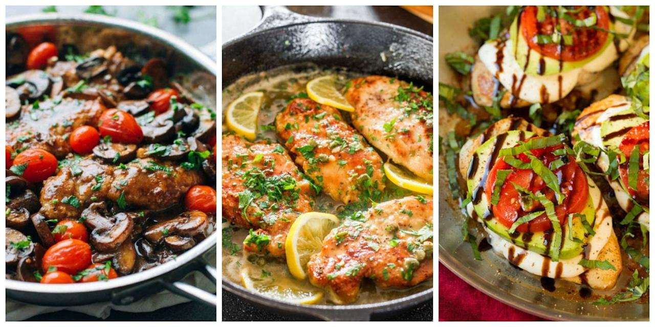 16 italian chicken dishes you can make better than restaurants for What can i make for dinner with chicken