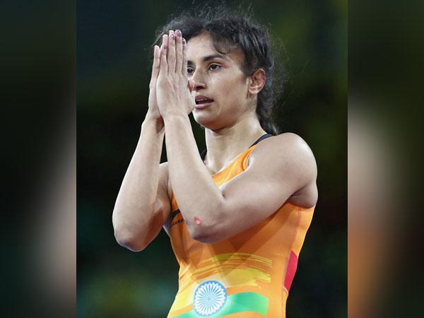 Grappler Vinesh Phogat (Photo/ Vinesh Phogat Twitter)