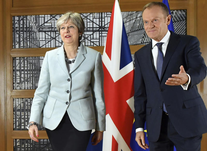 EU turning the screws on Britain over post-Brexit relations