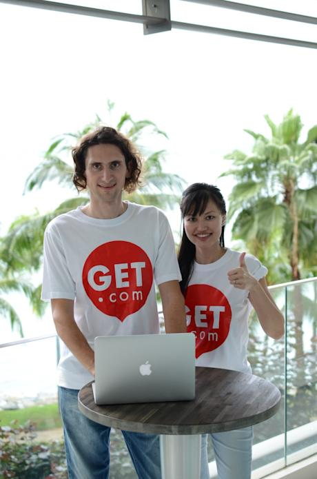 The founders of GET.com, Pedro and Grace. (Image Credit: GET.com)