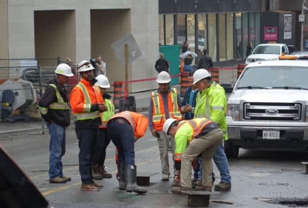 According to court documents, it took Rideau Transit Group nine months to repair the damage done by the sinkhole.