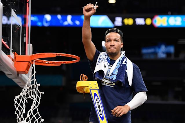 Jalen Brunson is known for his steady floor game. (Getty)