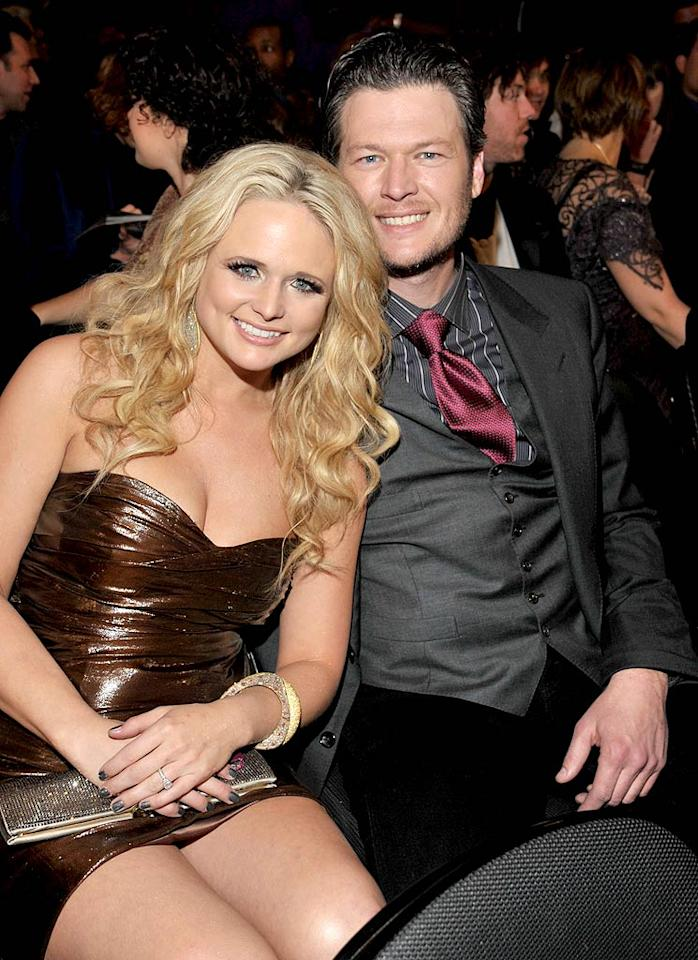 "Aw, it's like a happy ending in an upbeat country song! Singers Miranda Lambert and Blake Shelton tied the knot on a ranch near San Antonio, Texas, on May 14. The ""Kerosene"" gal wore her mother's wedding dress and cowboy boots for the ceremony, which took place in a barn lit by lanterns. The only question was who would provide the entertainment. Since both Lambert and Shelton were a little busy, fellow country crooner Neal McCoy did the honors."