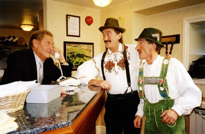 <strong>Jimmy Patton (1931-2019)</strong><br />Jimmy was the elder sibling of the Chuckle Brothers. He starred in 47 episodes of ChuckleVision between 1990 and 2009 and died 11 months after brother Barry.&nbsp;