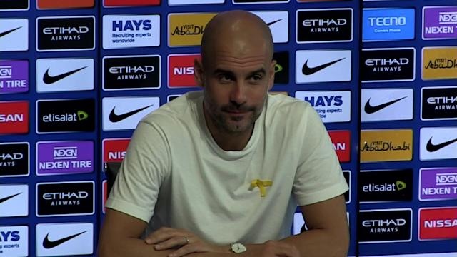 Manchester City manager Pep Guardiola pre match press conference v Swansea - SUBJECT: Winning the PL