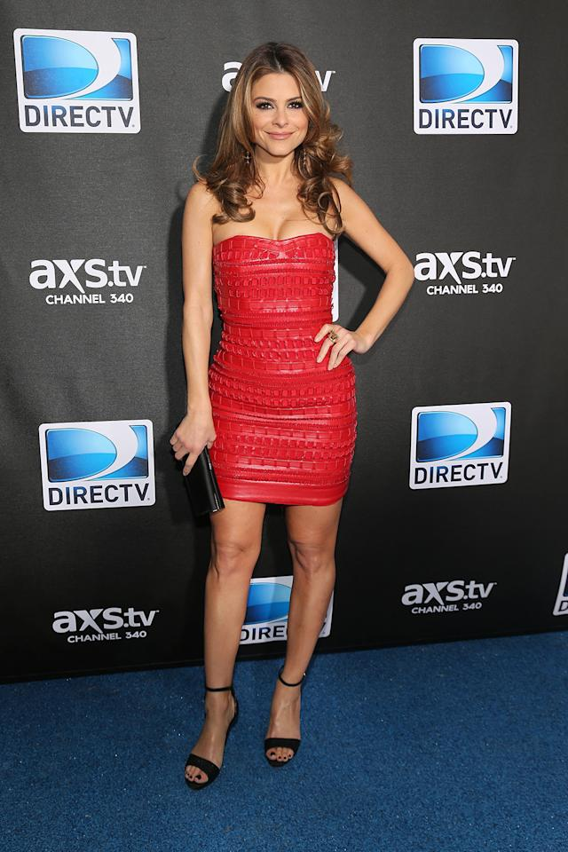 Maria Menounos attends DIRECTV Super Saturday Night Featuring Special Guest Justin Timberlake & Co-Hosted By Mark Cuban's AXS TV on February 2, 2013 in New Orleans, Louisiana.  (Photo by Neilson Barnard/Getty Images for DirecTV)