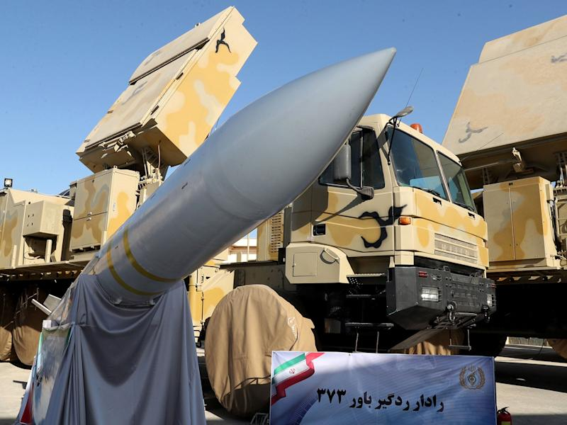 Iran displayed the domestically built mobile missile defence system Bavar-373, earlier this week: REUTERS