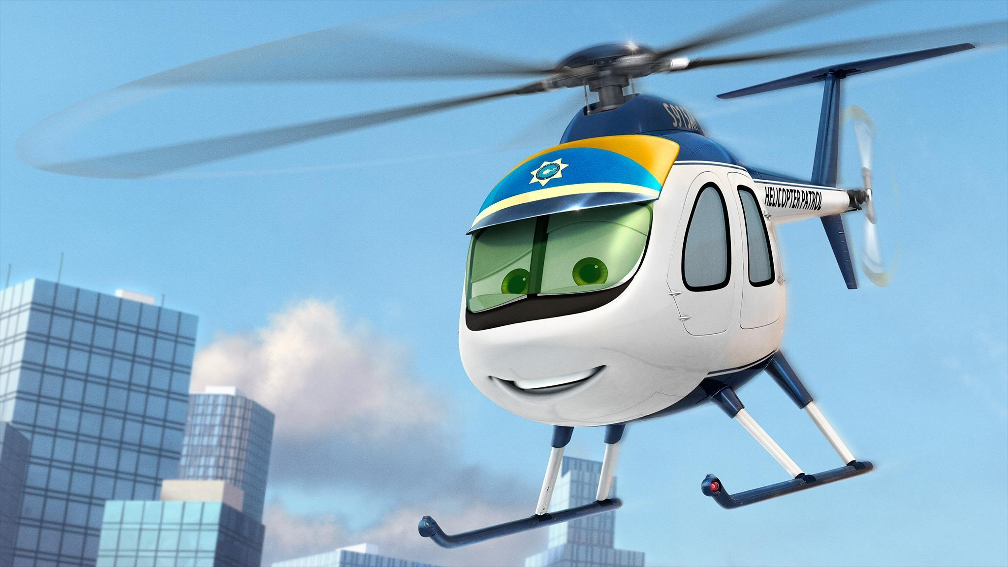 Nick Loopin' Lopez in 'Planes: Fire and Rescue' (Walt Disney Pictures)