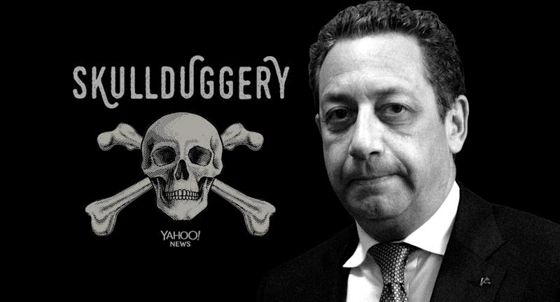 Felix Sater. (Photo illustration: Yahoo News; photo: Stefani Reynolds/CNP via Zuma Wire)