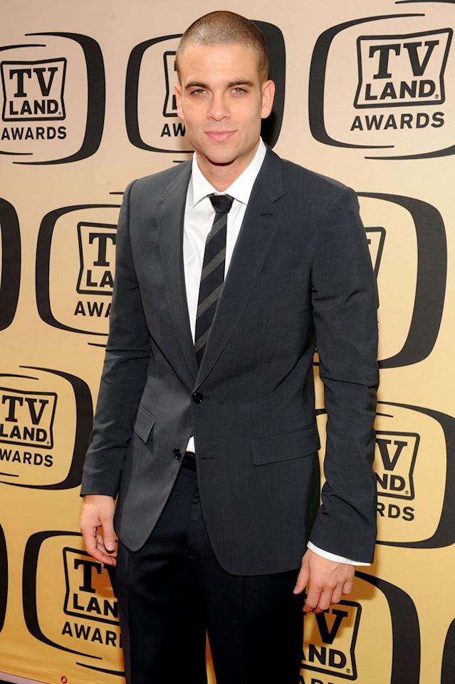 "Mark Salling (""Glee"") arrives at the <a href=""/the-8th-annual-tv-land-awards/show/46258"">8th Annual TV Land Awards</a> at Sony Studios on April 17, 2010 in Los Angeles, California. The show is set to air Sunday, 4/25 at 9pm on TV Land."