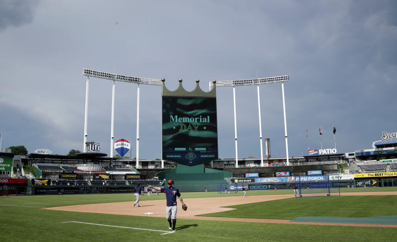 Woman in custody after allegedly trying to set fires in Kauffman Stadium