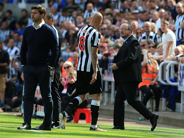 Jonjo Shelvey's reckless stamp costs Newcastle but Rafa Benitez and Mauricio Pochettino are in dire need of signings