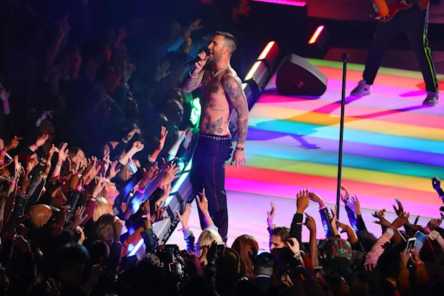2019: Maroon 5 (Photo by Rich Graessle/Icon Sportswire via Getty Images/ProPlayer Insiders)