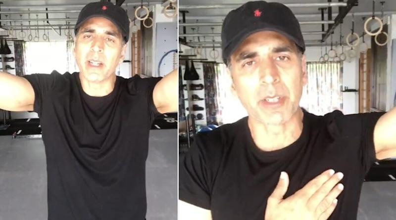 Akshay Kumar Shares His Thoughts On The Existing Drug Probe In Bollywood, Requests Media to Cover Such News Sensitively (Watch Video)