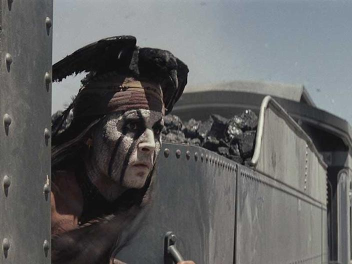 """Johnny Depp played Tonto in 2013's """"The Lone Ranger."""""""