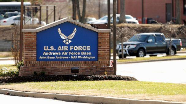 PHOTO: Vehicle traffic goes in and out of the U.S. Air Force Joint Base Andrews, Dec. 17, 2014, in Joint Base Andrews, Maryland. (Chip Somodevilla/Getty Images)