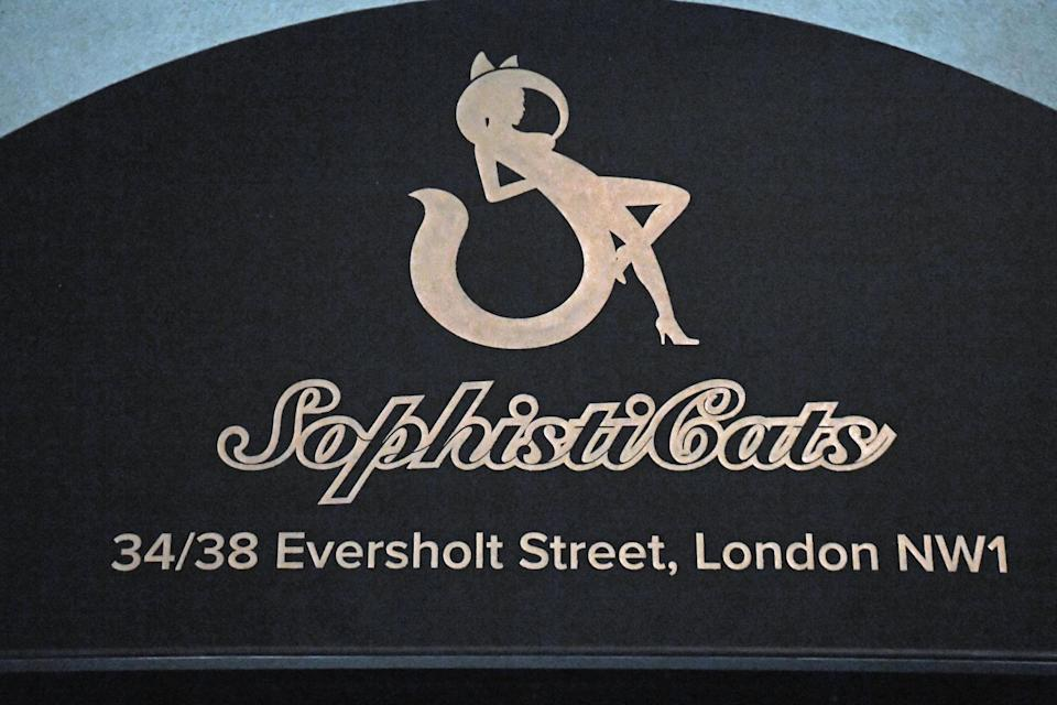 London strip club SophistiCats on Eversholt Street in Camden (file photo) (PA)