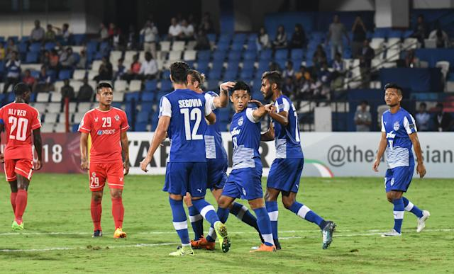 Wins for Indian clubs Aizawl and Bengaluru helped the Super Cup champions reach the inter-zone play-off semi-final of AFC Cup 2018...