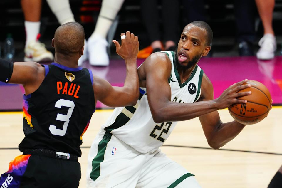 Bucks forward Khris Middleton will play for Team USA in Tokyo after an exhausting run through the NBA Finals.