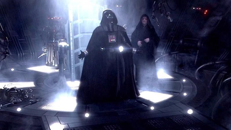 Vader says 'Noooo!' in 'Revenge Of The Sith' (credit: Disney)