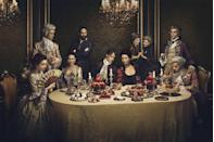 """<p>Although very different in their plots, the two shows have a bit of <a href=""""https://www.vanityfair.com/hollywood/2016/04/outlander-game-of-thrones"""" rel=""""nofollow noopener"""" target=""""_blank"""" data-ylk=""""slk:a rivalry."""" class=""""link rapid-noclick-resp"""">a rivalry.</a> <br></p>"""