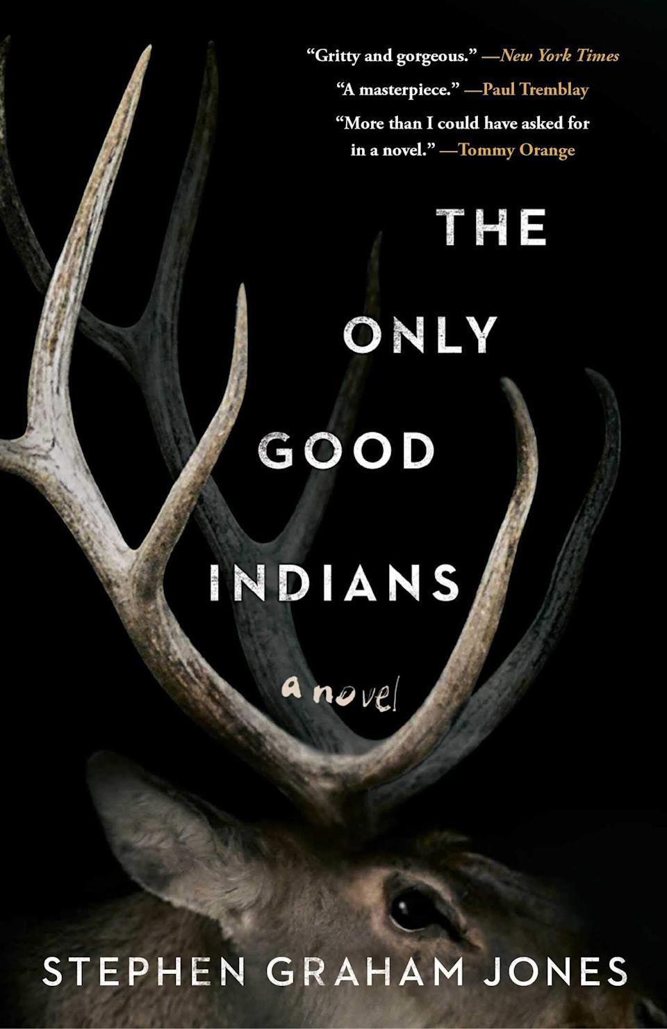 """This novel follows four Native American men who are being pursued by a dark force that's trying to catch up with them after a traumatic and mysterious childhood event.<br /><br />You can read more about this book on <a href=""""https://fave.co/37rleBe"""" target=""""_blank"""" rel=""""noopener noreferrer"""">Goodreads</a> and find it for $25 at <a href=""""https://fave.co/35mHvNN"""" target=""""_blank"""" rel=""""noopener noreferrer"""">Bookshop</a>. It's also available at <a href=""""https://amzn.to/3jkfXO2"""" target=""""_blank"""" rel=""""noopener noreferrer"""">Amazon</a>."""