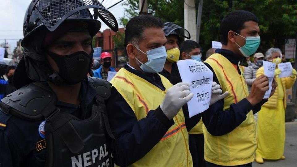There have been protests in Nepal against Indi's new road link