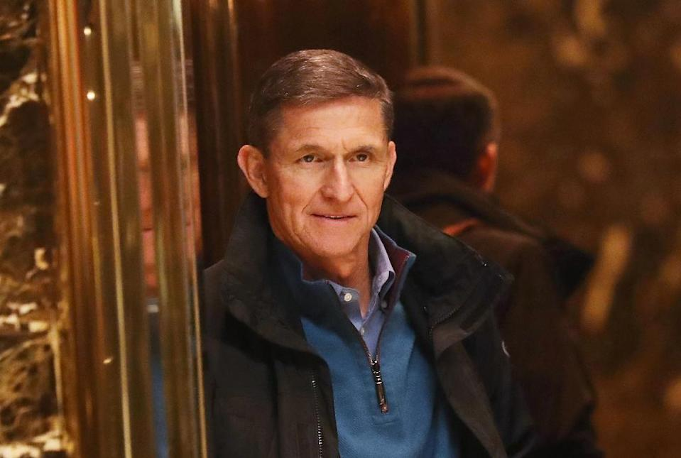 Michael Flynn, President Donald Trump's former national security adviser, is under investigation by special prosecutor Robert Mueller over his contacts with Turkish officials (AFP Photo/SPENCER PLATT)