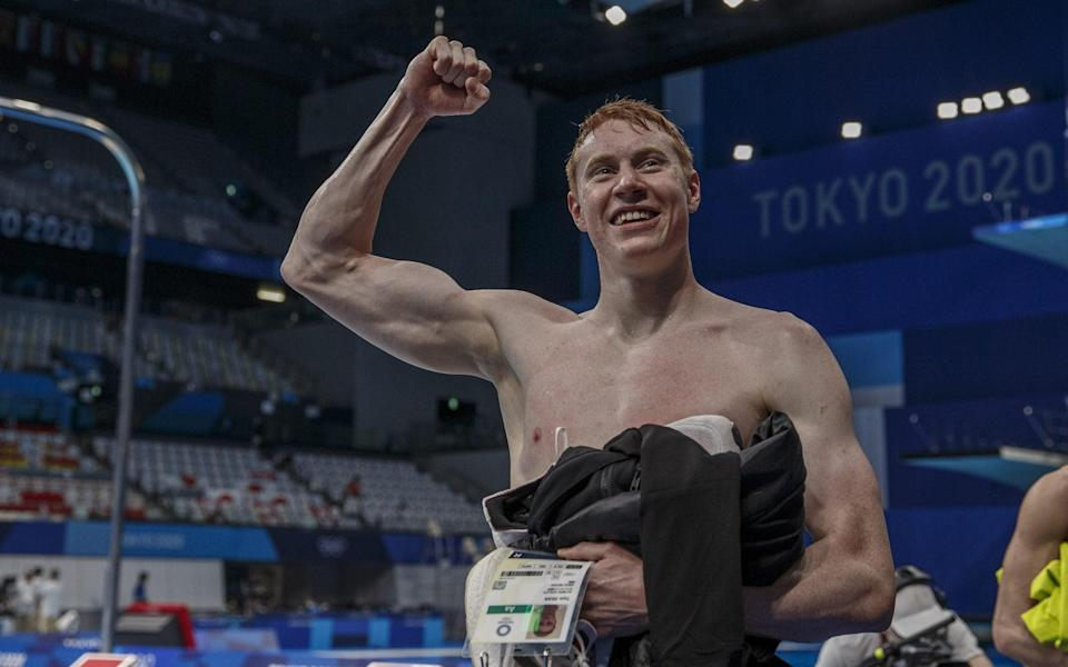 Tom Dean is one of several successful athletes to come from the Thames Valley - SHUTTERSTOCK