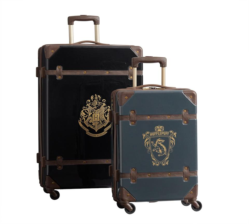 <p>Everyone in the baggage claim line will be so envious of your kid's themed luggage set!</p>