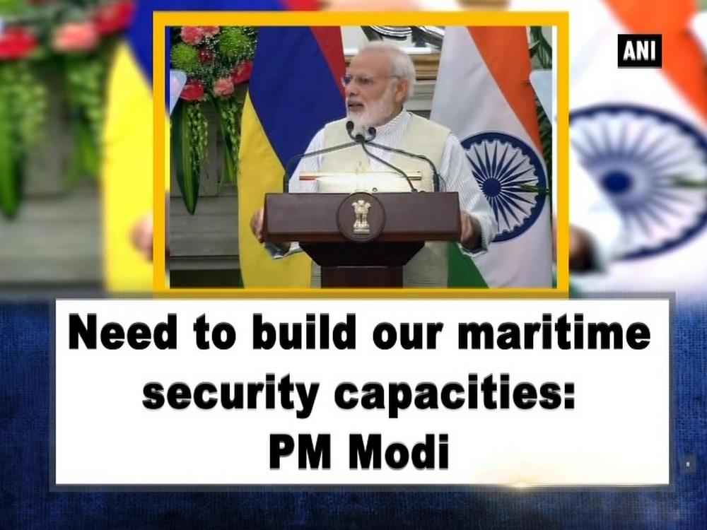 Prime Minister Narendra Modi on Saturday said that India and Mauritius should increase maritime security so that illegal business will not happen between two countries. Prime Minister Narendra Modi and Mauritius counterpart Pravind Jugnauth signed four agreements. Both the Prime Ministers discussed bilateral relations and security cooperation, including maritime security and counter terrorism. PM Pravind Jugnauth is on a three-day visit to India.