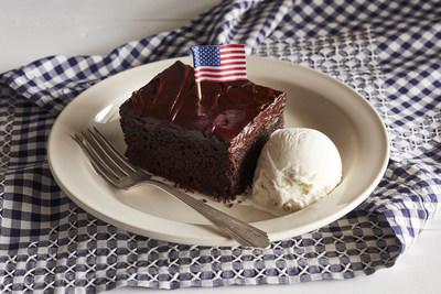 All military veterans will receive a choice of a complimentary slice of Double Chocolate Fudge Coca-Cola® Cake or a Crafted Coffee beverage on Nov. 11 at all Cracker Barrel stores in honor of Veterans Day.